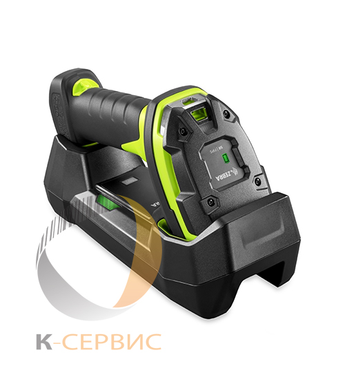 СКАНЕР ZEBRA DS3678-HP RUGGED GREEN STANDARD CRADLE USB